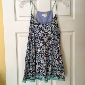 Anthropologie camisole tank top large
